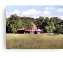 """""""My Home away from Home"""" ... said the Farmer Canvas Print"""