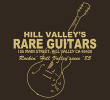Hill Valley Rare Guitars - Rockin' Since '85 Gibby by OnionSkin