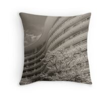 S Curve Throw Pillow