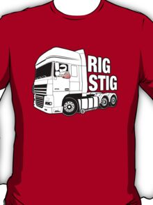 Top Gear - Rig Stig. The Stig's Lorry Driving Cousin T-Shirt