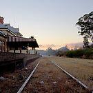 Mudgee Train Station by Jennifer Saville