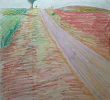 Lonely Road by Lynne Head-Weir