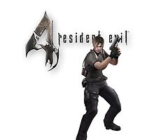 Resident Evil 4 Leon iPhone case by Kerrisaurus