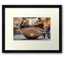 Ghosts of Rundle Mall Framed Print