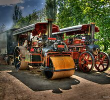 Steam Traction - HDR by David J Knight
