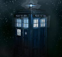 Tardis In Space by ChristieRose
