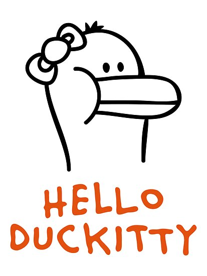 Hello Duckitty by chrisbears