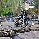 Trial Bike Event,Killin,Scotland by Jim Wilson