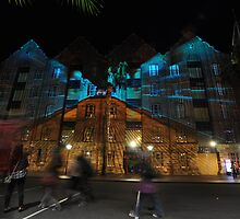 Vivid Festival (Speed Of Light), Sydney, Australia 2013 by muz2142