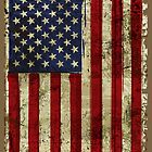 America Grunge Flag iPad / iPhone 5 Case / Samsung Galaxy Cases  by CroDesign
