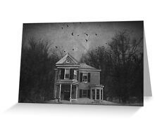 That House on the Hill Greeting Card
