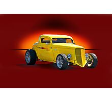 1934 Ford Coupe - Studio 1 Photographic Print