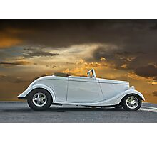 1933 Ford Cabriolet Photographic Print
