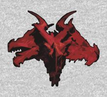 Three-Headed Dragon, Red Kids Clothes