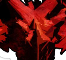Three-Headed Dragon, Red Sticker