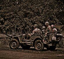 WWII Jeep by Studio601