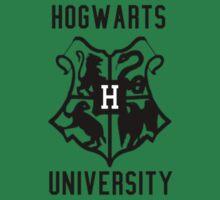 Hogwarts University - Small Logo by MuggleMarauders