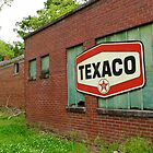 Texaco Sign by WildestArt