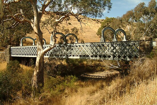 Joe Mortelliti Gallery - Two lane Mia Mia bridge, Redesdale, central Victoria, Australia. by thisisaustralia