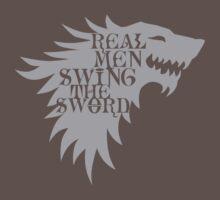 Real Men Swing the Sword by Magmata