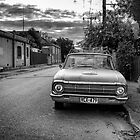 An old cars is left to decay in the backstreets of Adelaide. by Nick Griffin