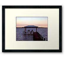 Evening on Perdido Bay Framed Print