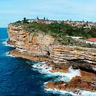The Gap, Watsons Bay by Michael Humphrys