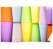 Abstract multicolor Poster
