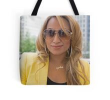 Uzma Yakoob star from the Apprentice TV programme by Canary Wharf Tote Bag