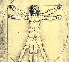 Vitruvian Man by BisKrome