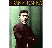 Franz Kafka (Colorized) Photographic Print