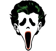 Ghostface Joker Photographic Print