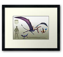 -Aerodactyl- Framed Print