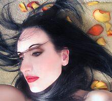 The Beautiful Prisoner - Self Portrait by Jaeda DeWalt