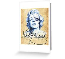 Marilyn Monroe - Live Fast Greeting Card