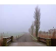 One Foggy day. Photographic Print