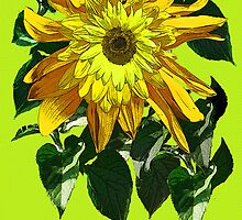 Exuberant Sunflowers - tee by DAdeSimone