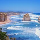 12 Apostles great ocean road Victoria Australia by Danny  Waters