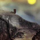 Crail: Scottish village digital illustration by Grant Wilson