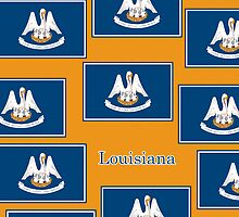 Smartphone Case - State Flag of Louisiana - Horizontal IV by Mark Podger