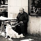 Man and His Dog by MatMartin