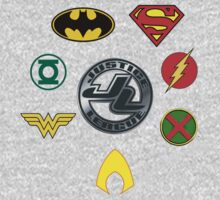 Justice League- Symbols by JordanMay
