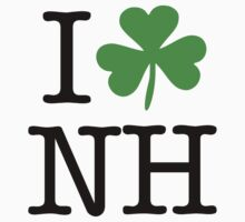 I Love (Shamrock) NH by saintpaddiesday