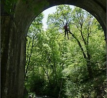 Abseiling, Chee Dale by Mikhail31