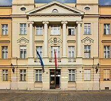 The Parliament of Croatia Facade by kirilart