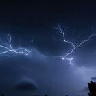 Oklahoma Lightning  by CPhotos
