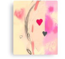 Corner of the heart Canvas Print