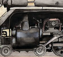 Inner Workings of a Locomotive by Josué Salazar