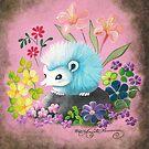 Blue Hedgehog by AngelArtiste