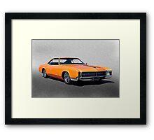1966 Buick Riviera II Framed Print